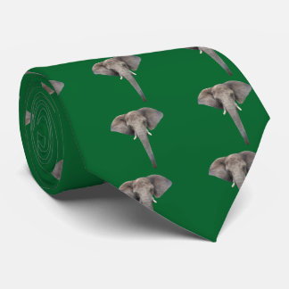 The African elephant Neck Tie