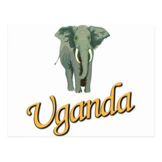 The African Elephant Postcard