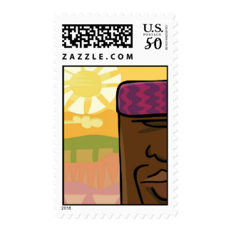 The African King Postage