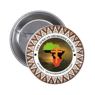 The African Orthodox Church of Africa Pinback Button