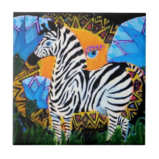 The African Zebra Gifts Tiles