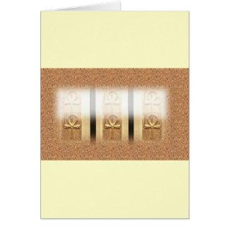 The AfriMex Urbano Triple Ankh Card