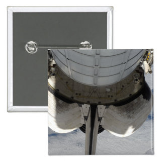 The aft portion of the Space Shuttle Endeavour 2 Button