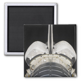The aft portion of the Space Shuttle Endeavour 2 Inch Square Magnet