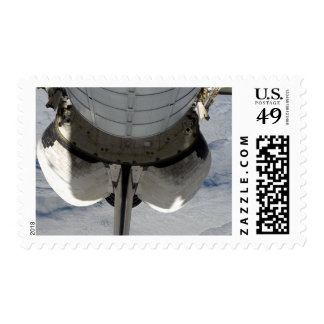 The aft portion of the Space Shuttle Endeavour 2 Postage
