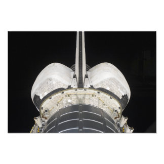 The aft portion of the Space Shuttle Endeavour Photo Print