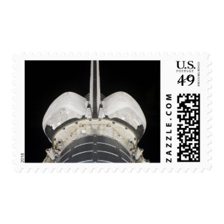 The aft portion of the Space Shuttle Endeavour Postage