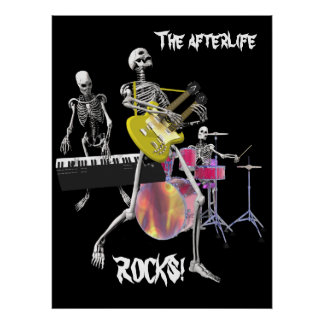 The afterlife ROCKS! Print