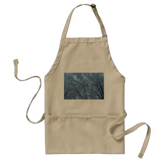 The Aftermath Of A Winter Storm Adult Apron