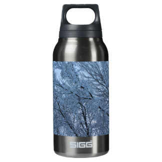 The Aftermath Of A Winter Storm Insulated Water Bottle