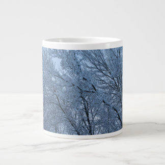 The Aftermath Of A Winter Storm Large Coffee Mug