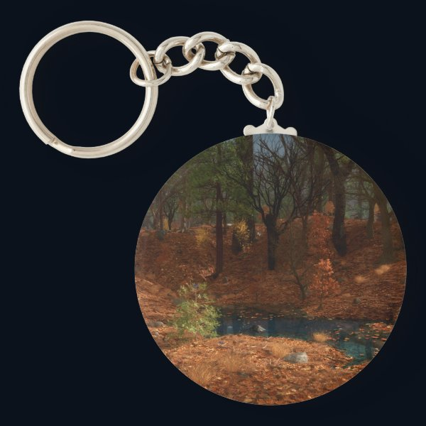 The Afternoon of the Year Keychain