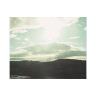 The Afternoon Sun Canvas Print