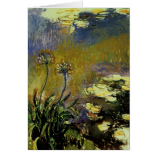 The Agapanthus Card