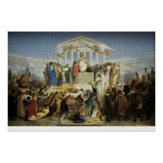 The Age of Augustus, Birth of Christ byGerome Poster