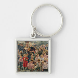 The Ages of the Worker Keychain
