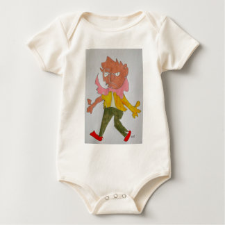 The Aggressor Baby Bodysuit