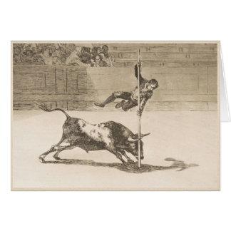 The Agility and Audacity of Juanito Apinani Goya Card