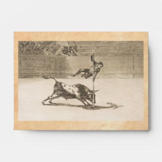 The Agility and Audacity of Juanito Apinani Goya Envelope