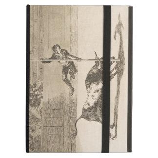 The Agility and Audacity of Juanito Apinani Goya iPad Cases