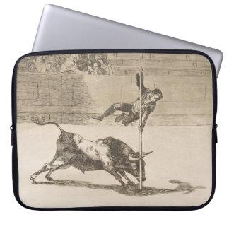 The Agility and Audacity of Juanito Apinani Goya Laptop Sleeves