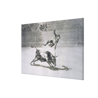 The agility and audacity of Juanito Apinani in the Stretched Canvas Prints