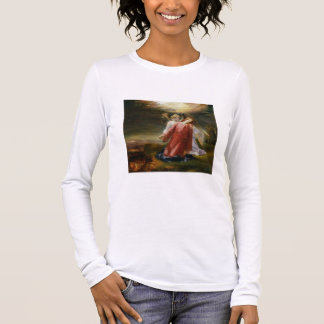The Agony in the Garden, 1858 (oil on panel) Long Sleeve T-Shirt