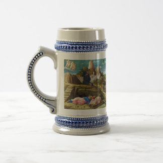 The Agony in the Garden by Andrea Mantegna Beer Stein