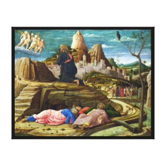 The Agony in the Garden by Andrea Mantegna Canvas Print