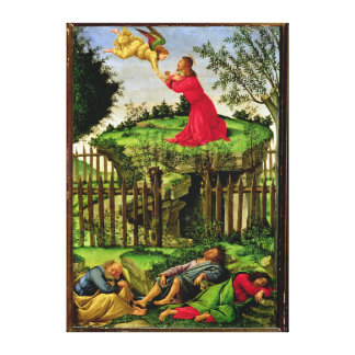 The Agony in the Garden, c.1500 Canvas Print