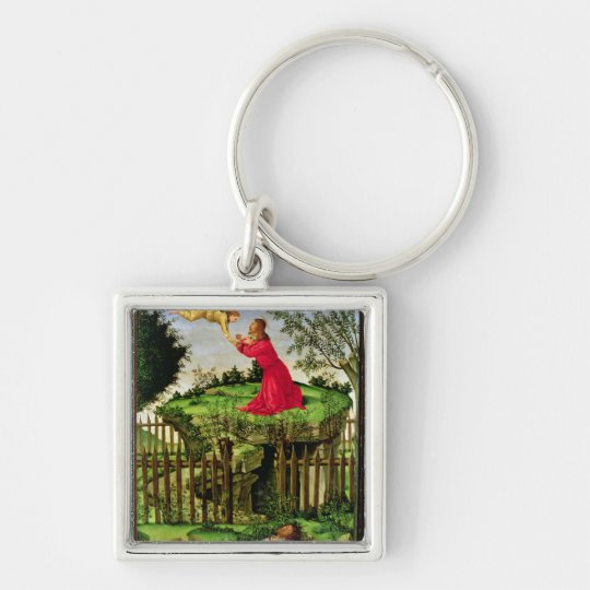 The Agony in the Garden, c.1500 Keychain