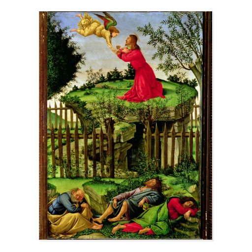 The Agony in the Garden, c.1500 Postcard