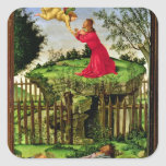 The Agony in the Garden, c.1500 Square Sticker
