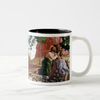 The Agony in the Garden Two-Tone Coffee Mug