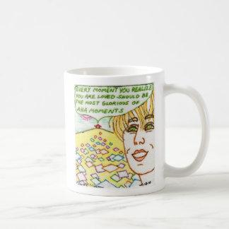 The Aha Moment Classic White Coffee Mug