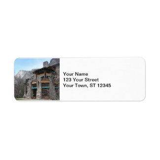 The Ahwahnee- Yosemite Label