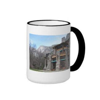 The Ahwahnee- Yosemite Ringer Coffee Mug