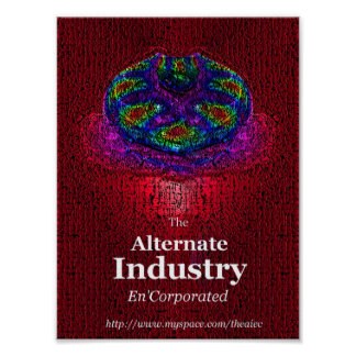 The AIEC Spore Flower Poster