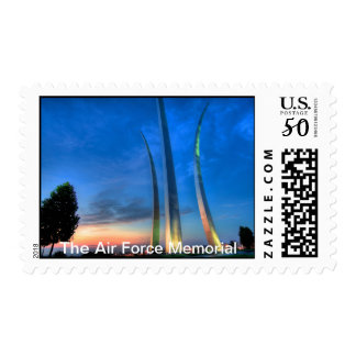 The Air Force Memorial Postage
