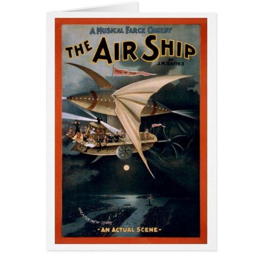 The Air Ship Card