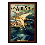 The Air Ship Greeting Card