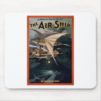 The Air Ship Mouse Pad
