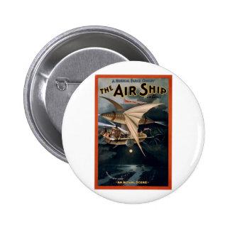 The Air Ship Pins