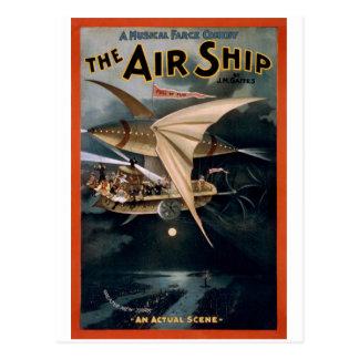 The Air Ship Postcard
