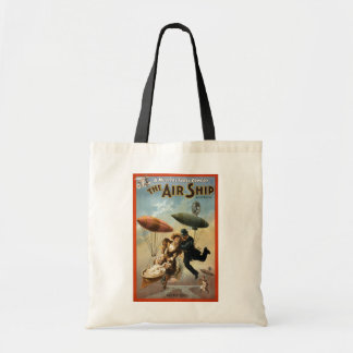 The Air Ship - The Fly Cop Canvas Bags