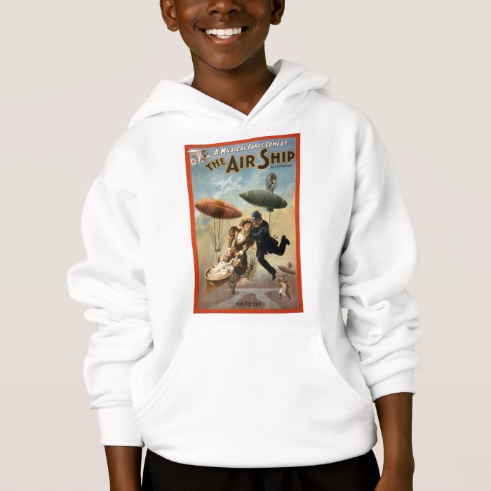 The Air Ship - The Fly Cop Hoodie