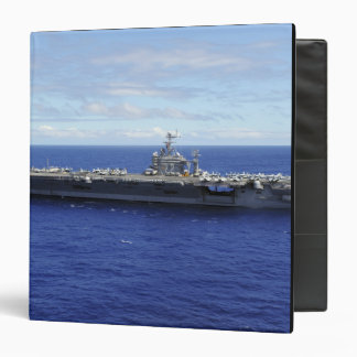 The aircraft carrier USS Abraham Lincoln 2 3 Ring Binder