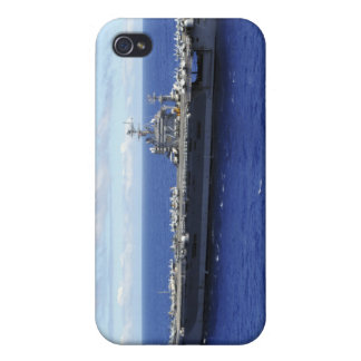 The aircraft carrier USS Abraham Lincoln 2 Cover For iPhone 4