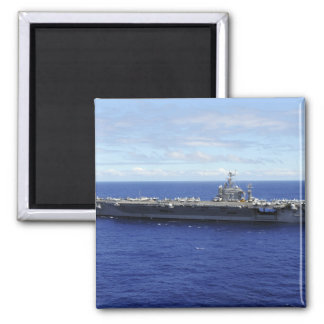 The aircraft carrier USS Abraham Lincoln 2 Magnet