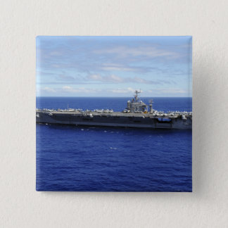 The aircraft carrier USS Abraham Lincoln 2 Pinback Button